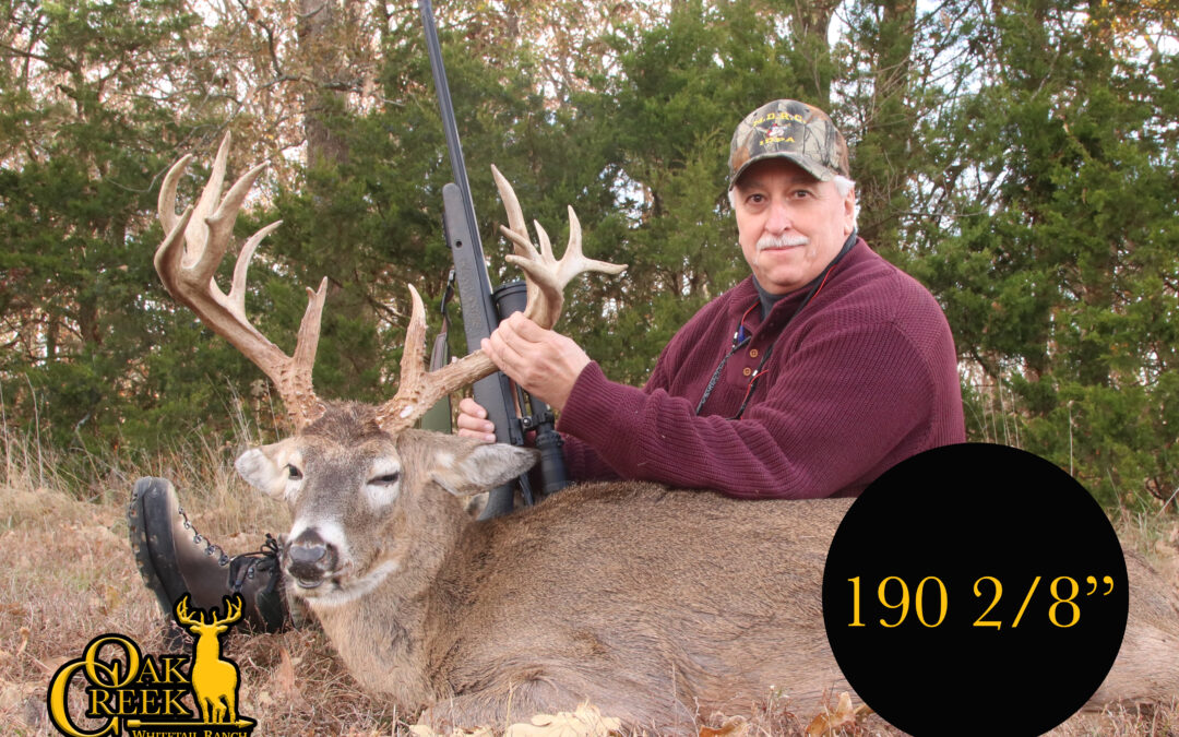 "Great 190"" midwestern whitetail buck."
