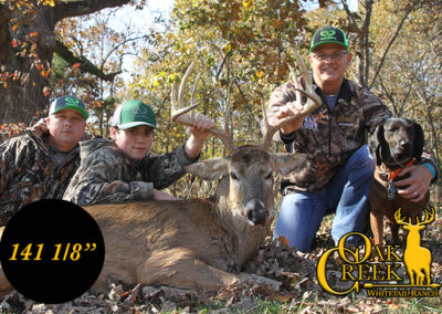 2017 Oak Creek Management Harvest