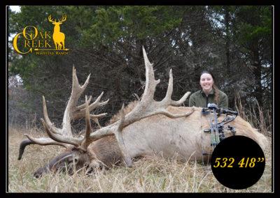 Oak Creek Elk Harvest