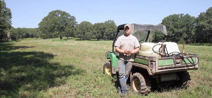 Fall Food Plots at Oak Creek Whitetail Ranch